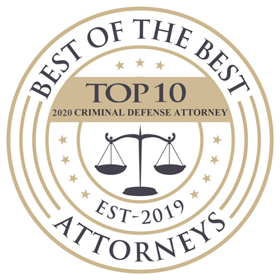Best of the Best Attorneys Criminal Defense Badge 2020 - Awards
