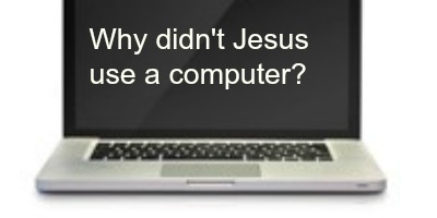 Computer with question