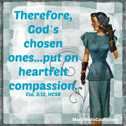 Put on compassion