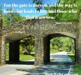 Montreat gate