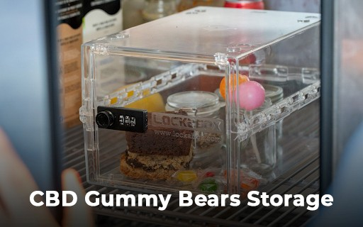 How to Store Weed Gummy Bears in Refrigerators?