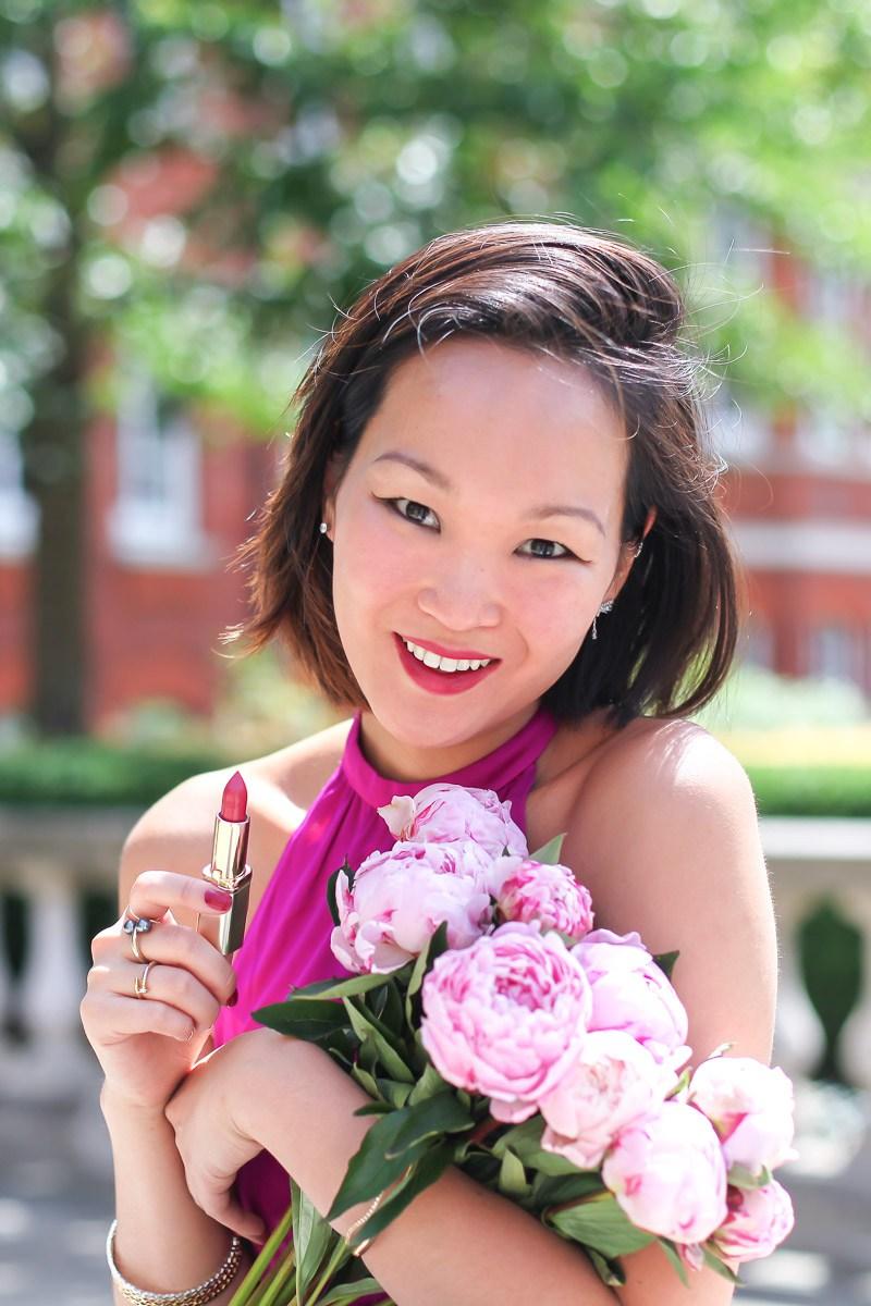 mariko kuo for loreal paris makeup app