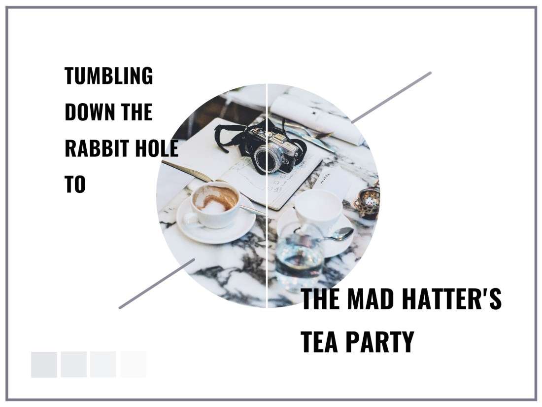 Sanderson Hotel Mad Hatter's Tea Party