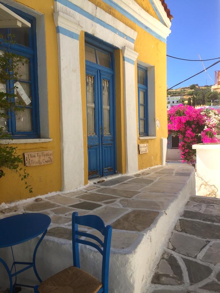 Greek Island Light - Leeks, Paros