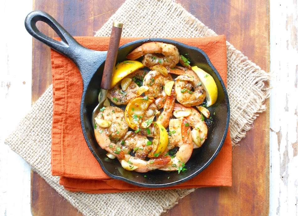 Quick and Easy Weeknight Garlic Shrimp