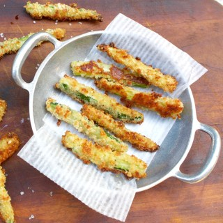 Easy Zucchini Fries Sq.