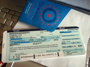 Oceanic Ticket