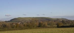 Hambledon Hill from the Hammoon footpath