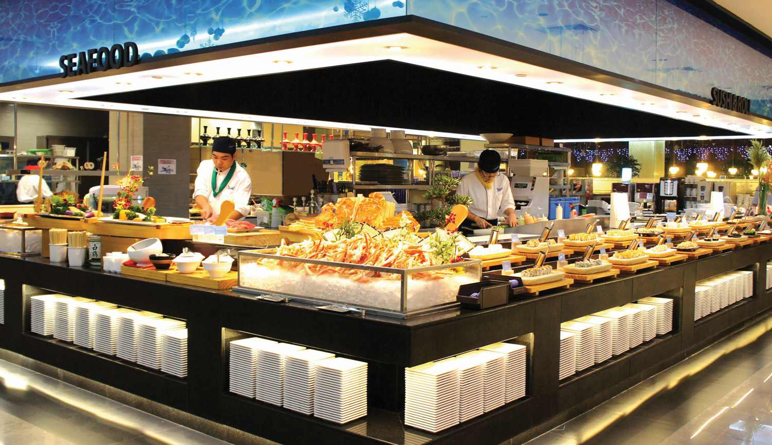 Best seafood buffet restaurants near me for Fish restaurants near me