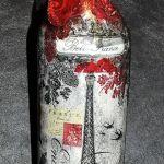 Ideas de decoupage en botellas (11)