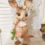 Muñeco conejo de tela