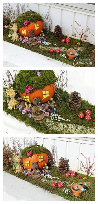 mini casa con jardin 2