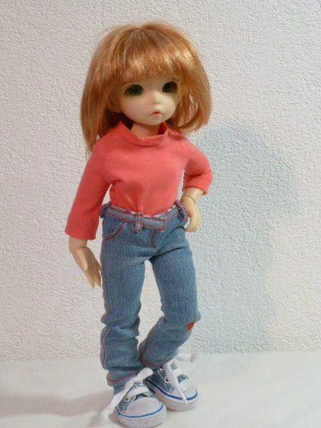 pantalon vaquero para muñecas
