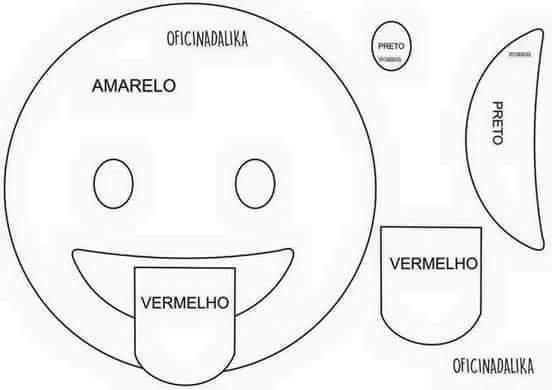 Moldes cojines de emoticones (6)