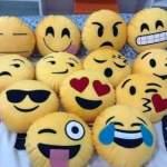 Moldes cojines de emoticones