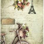 Laminas de bicicletas para decoupage