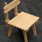 Como hacer una silla con palitos de helado