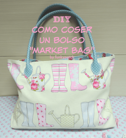 Diy Bolso Market bag