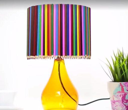reciclar lampara