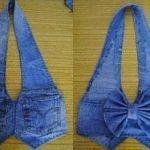 Hacer un chaleco con unos Jeans