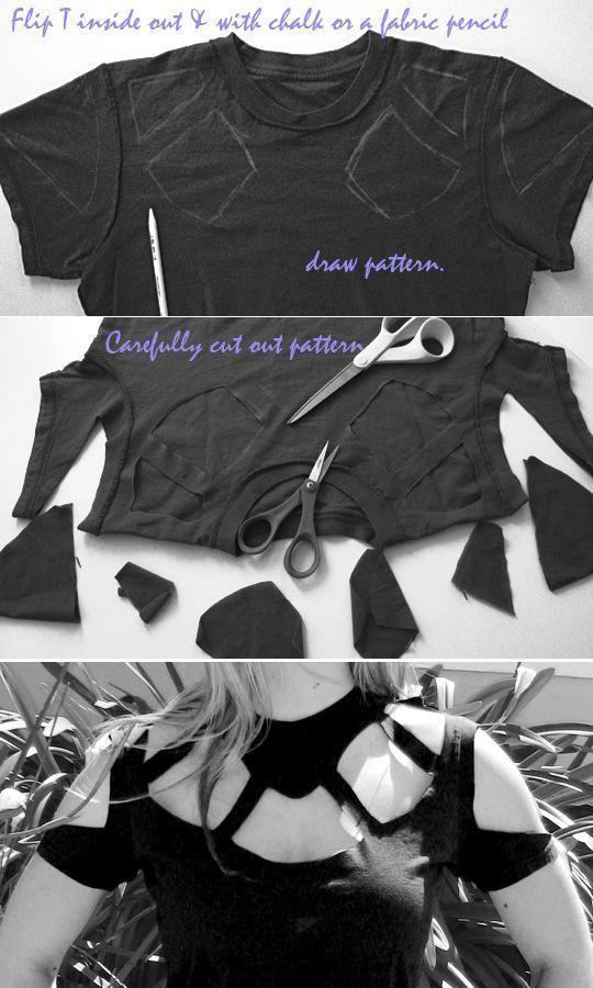 transformar una camiseta