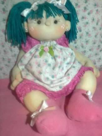 Muñeca soft con patrón