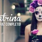 DIY para disfraz de catrina completo con maquillaje incluido
