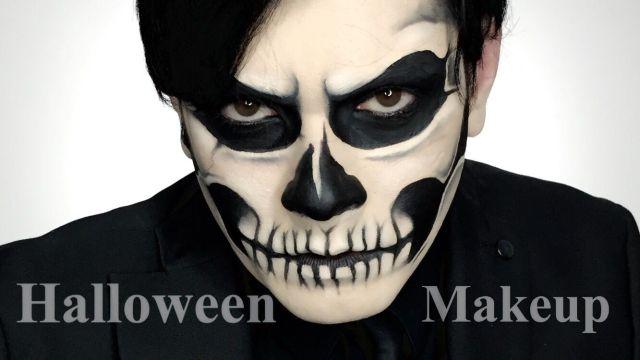 maquillaje-halloween-calavera