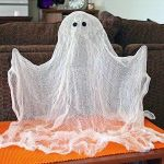 DIY Fantasmas decoración para halloween