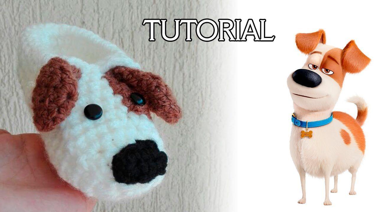 Tutorial pantufla de perrito a crochet - Marina Creativa