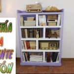 DIY Estantería hecha con Cartón