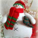 Muñeco de Nieve con patrón