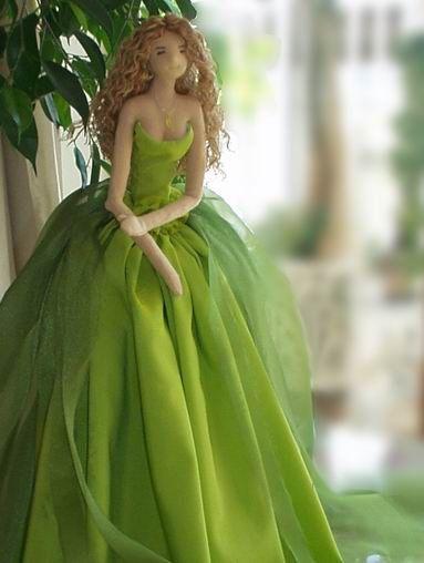 Patrón muñeca bailarina de tela (2)