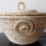 cesto de cuerda 20