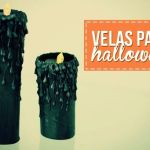 Velas falsas para Halloween o Navidad