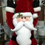 Muñeco Papá Noel con moldes