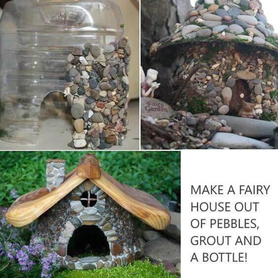 Como hacer una casa con piedras