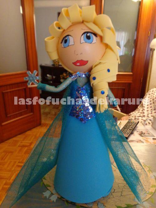 Fofucha Elsa con patrones gratis