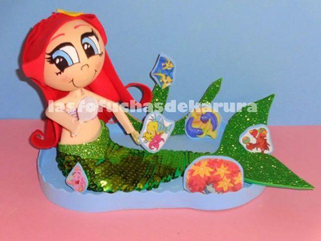 Patrones gratis de Ariel (La sirenita)