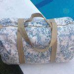 Bolsa de viaje con patrón