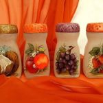 Ideas para decorar con decoupage