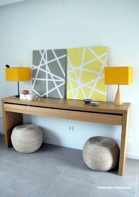 Como hacer cuadros geométricos decorativos