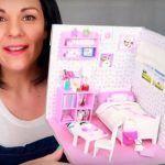 Habitación en miniatura para casas de muñecas