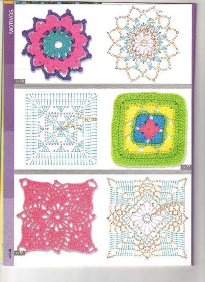 Ideas para hacer mantas a crochet 9