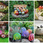 Ideas originales para utilizar piedras