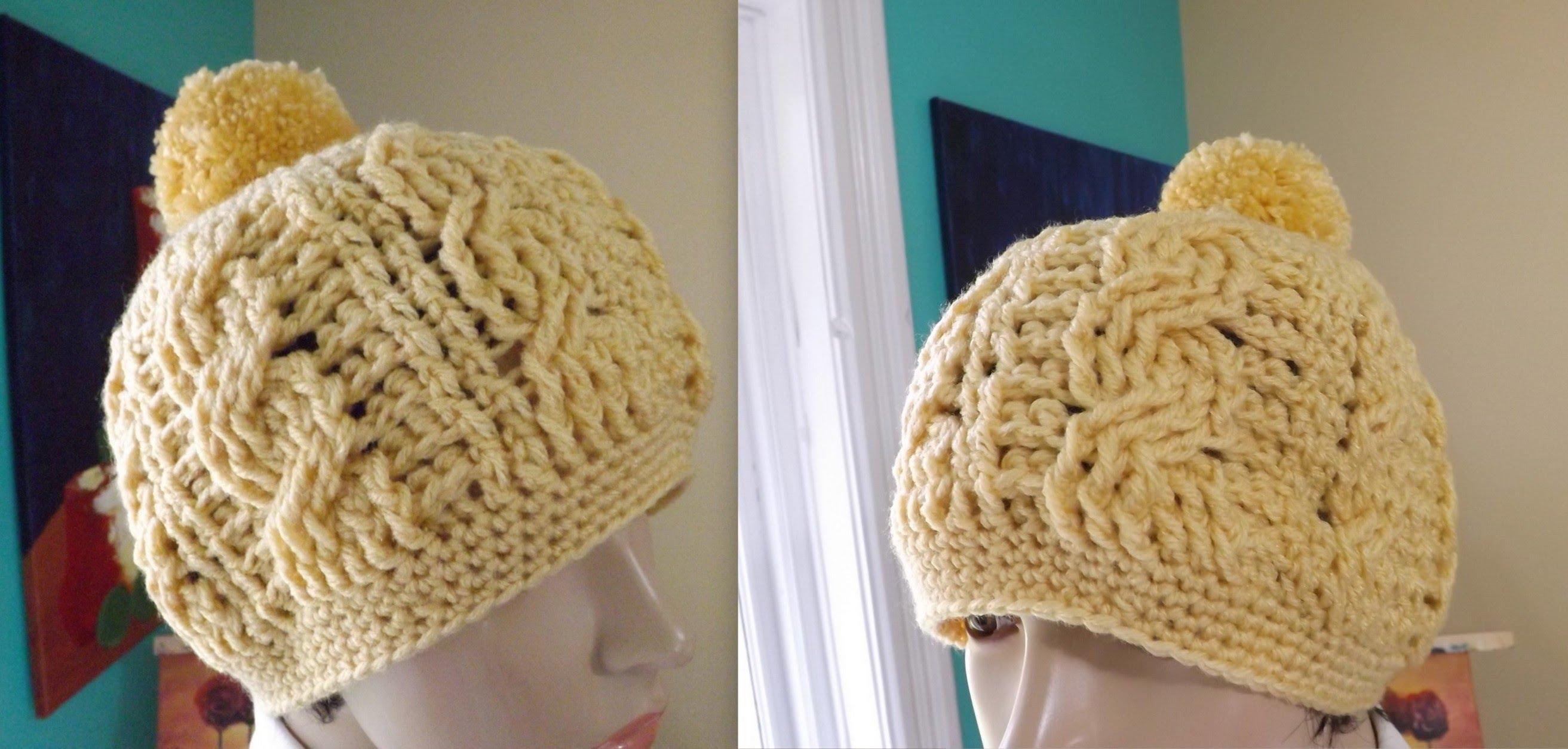 Asombroso Peón Libre Patrón De Crochet Sombrero Motivo - Ideas de ...