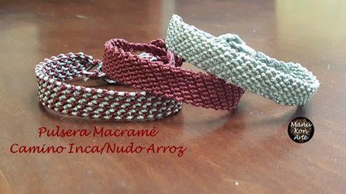 Tutorial para hacer pulseras de macramé