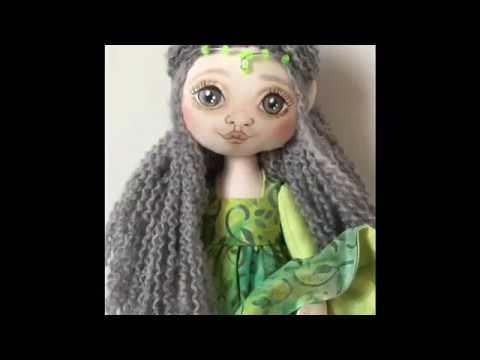 Muñeca Arwen con patrones gratis