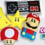 Haz tus cojines Mario Bros sin coser