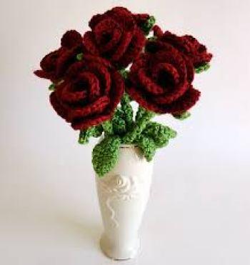 Patrón para hacer rosas en amigurimi(4)